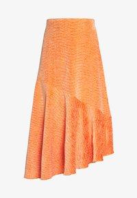 Monki - SKIRT - A-line skjørt - crushed orange - 3