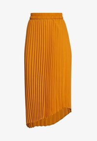 Monki - YAN PLISSE SKIRT - A-lijn rok - yellow dark - 4