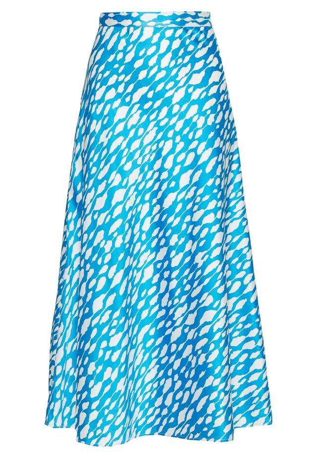BRISA SKIRT - A-Linien-Rock - blue