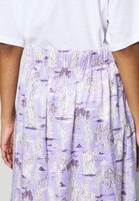 Monki - SAMMY SKIRT - A-linjainen hame - lilac purple light - 4