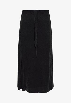 RIMA SKIRT - Áčková sukně - black
