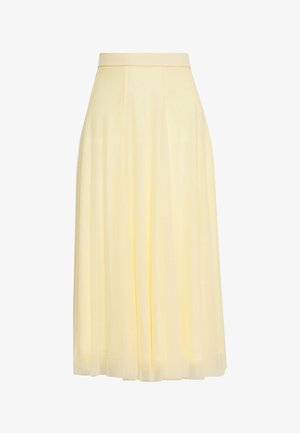 JOANNA SKIRT - A-line skjørt - yellow light