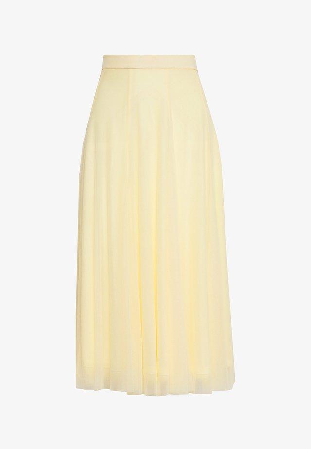 JOANNA SKIRT - A-linjekjol - yellow light