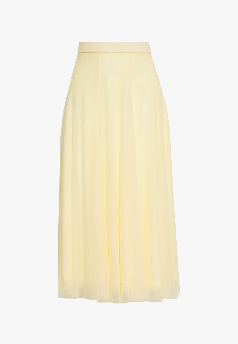 Monki - JOANNA SKIRT - A-Linien-Rock - yellow light