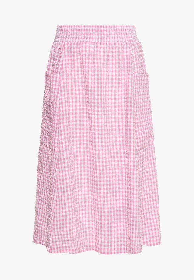 QIA SKIRT - A-snit nederdel/ A-formede nederdele - pink