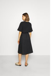 Monki - QIA SKIRT - A-line skirt - black dark - 2