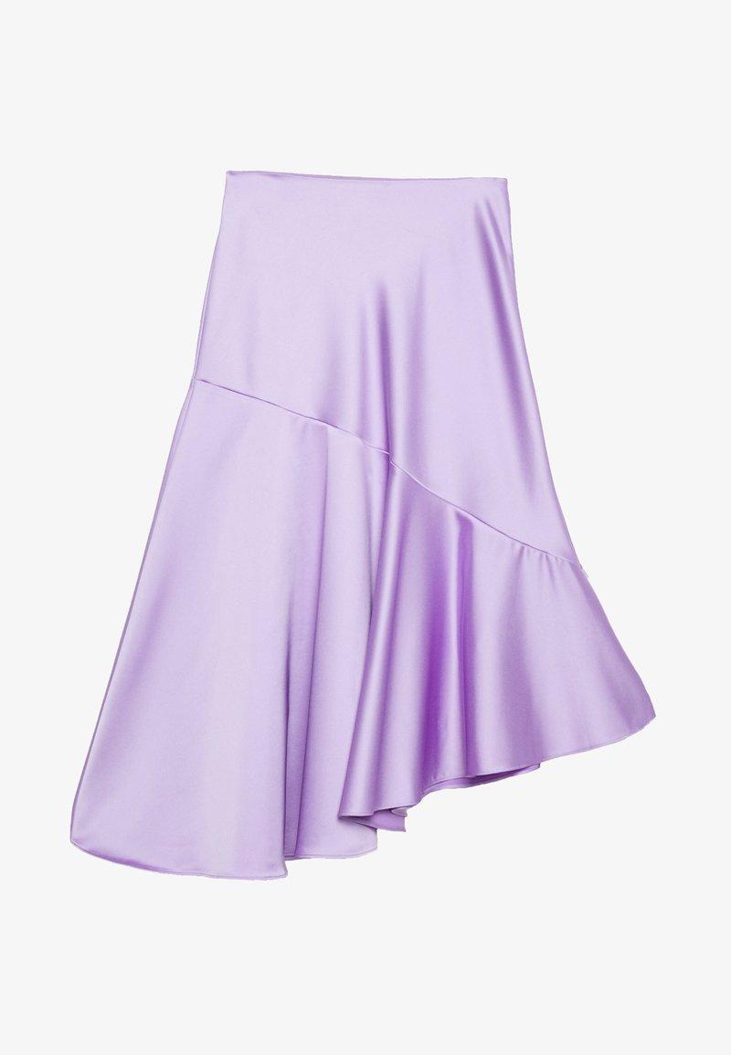 Monki - SKIRT - A-lijn rok - lilac