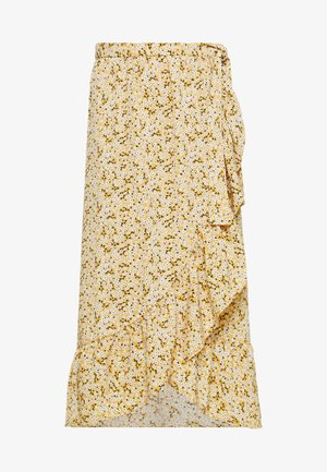 MARY LOU SKIRT - Falda acampanada - yellow medium