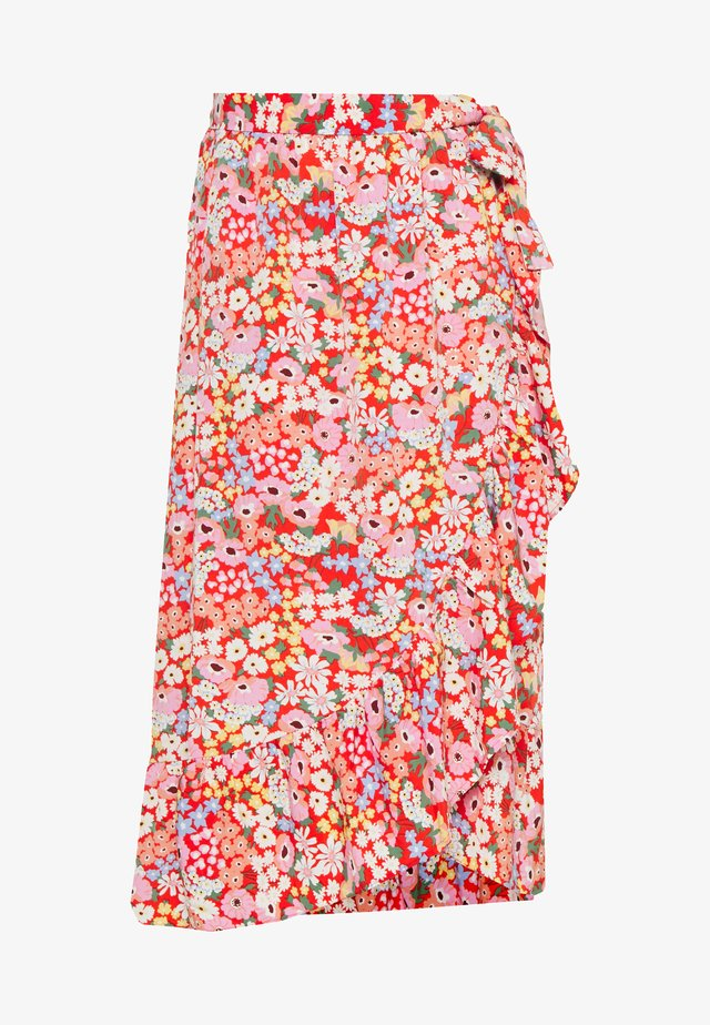 MARY LOU SKIRT - A-linjekjol - red