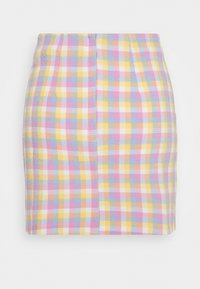 Monki - RENATA SKIRT - Mini skirt - blue - 1