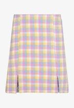 RENATA SKIRT - Mini skirt - blue