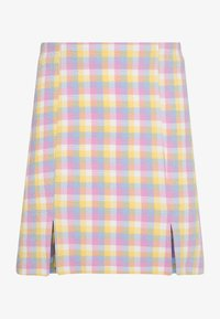 Monki - RENATA SKIRT - Mini skirt - blue - 2