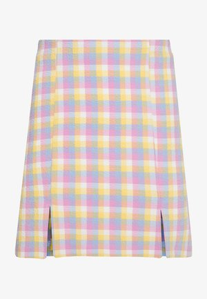 RENATA SKIRT - Mini skirt - blue