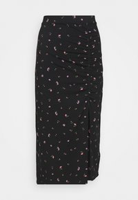 Monki - VANESSA SKIRT - Maxiskjørt - black - 0