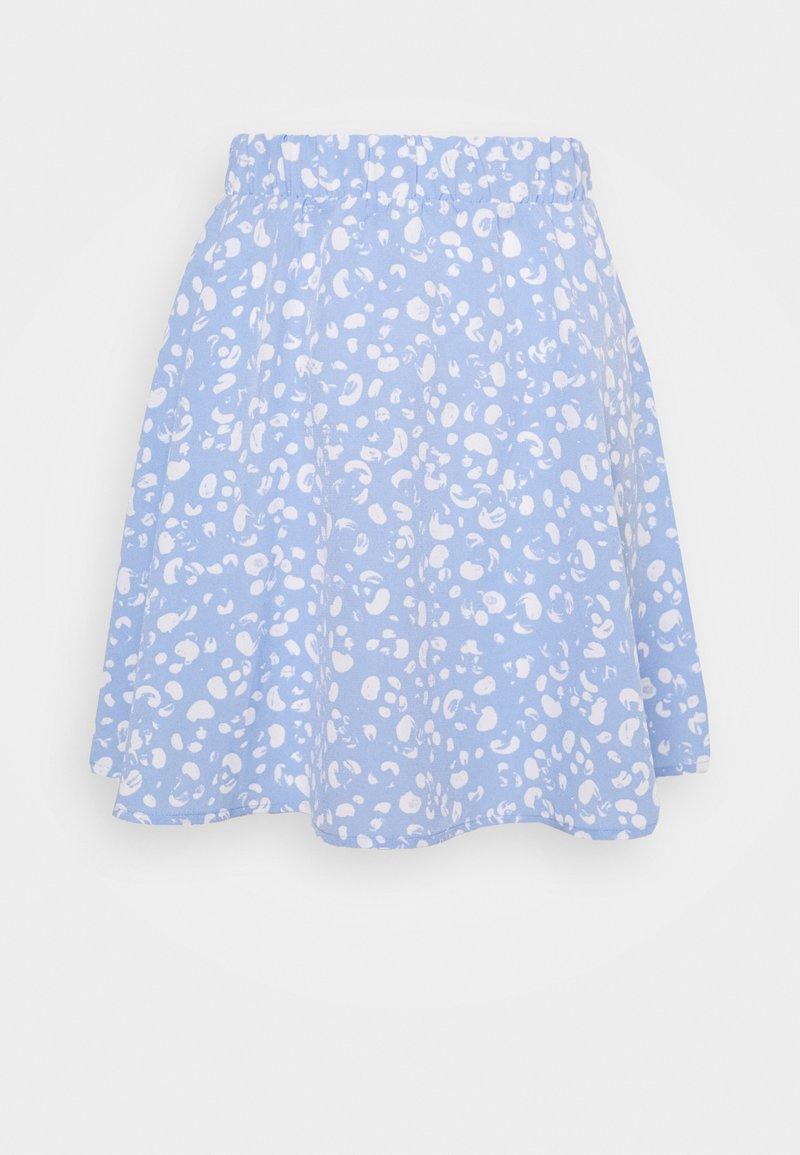 Monki - MELISSA SKIRT - A-line skirt -  blue