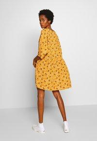 Monki - WENDELA DRESS - Day dress - yellow dark - 2