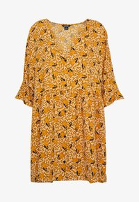 Monki - WENDELA DRESS - Day dress - yellow dark - 3