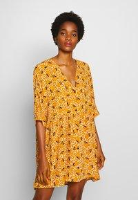 Monki - WENDELA DRESS - Day dress - yellow dark - 0