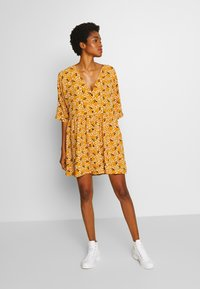 Monki - WENDELA DRESS - Day dress - yellow dark - 1