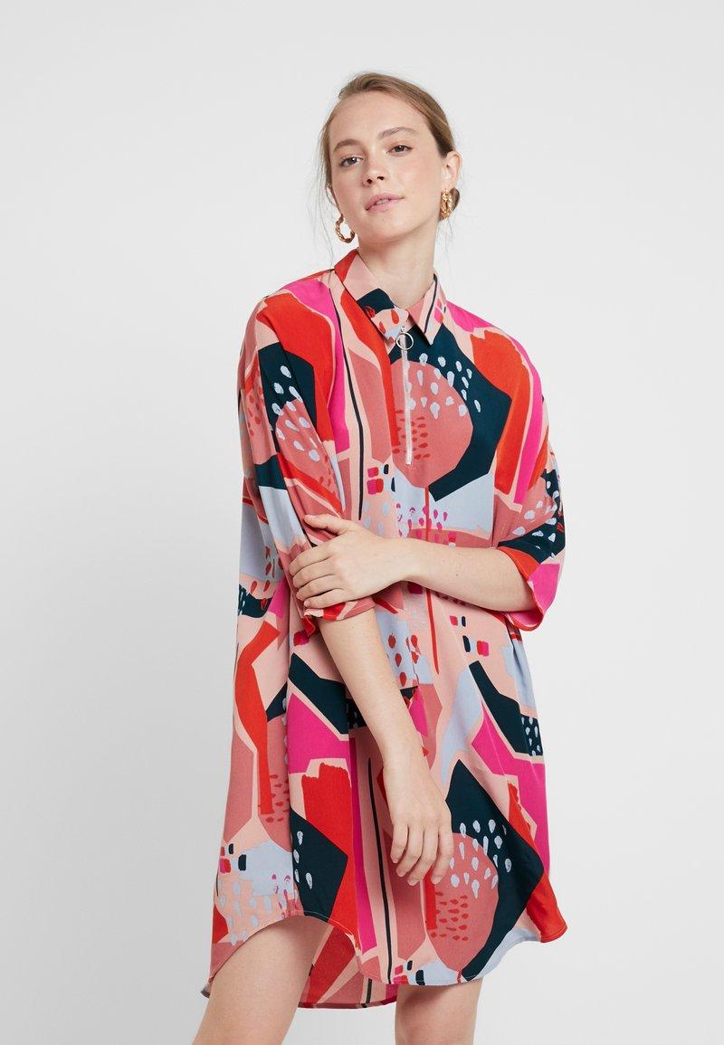 Monki - MOLLY DRESS - Blusenkleid - multi-coloured