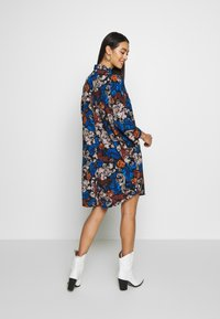 Monki - MOA SHIRTDRESS - Robe chemise - black - 2