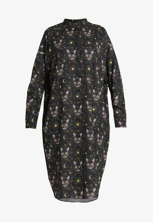 TOMI DRESS - Skjortekjole - black
