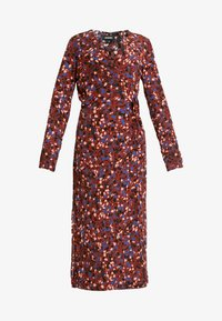 Monki - ERICA DRESS - Korte jurk - red/multisprinkle - 4