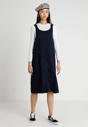 AMI WORKWEAR DRESS - Sukienka letnia - blue