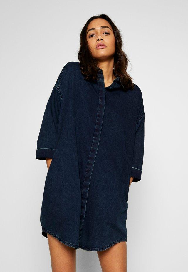 MONA LISA DRESS - Shirt dress - blue