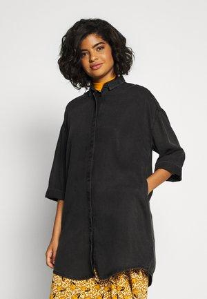 MONA LISA DRESS - Košilové šaty - black