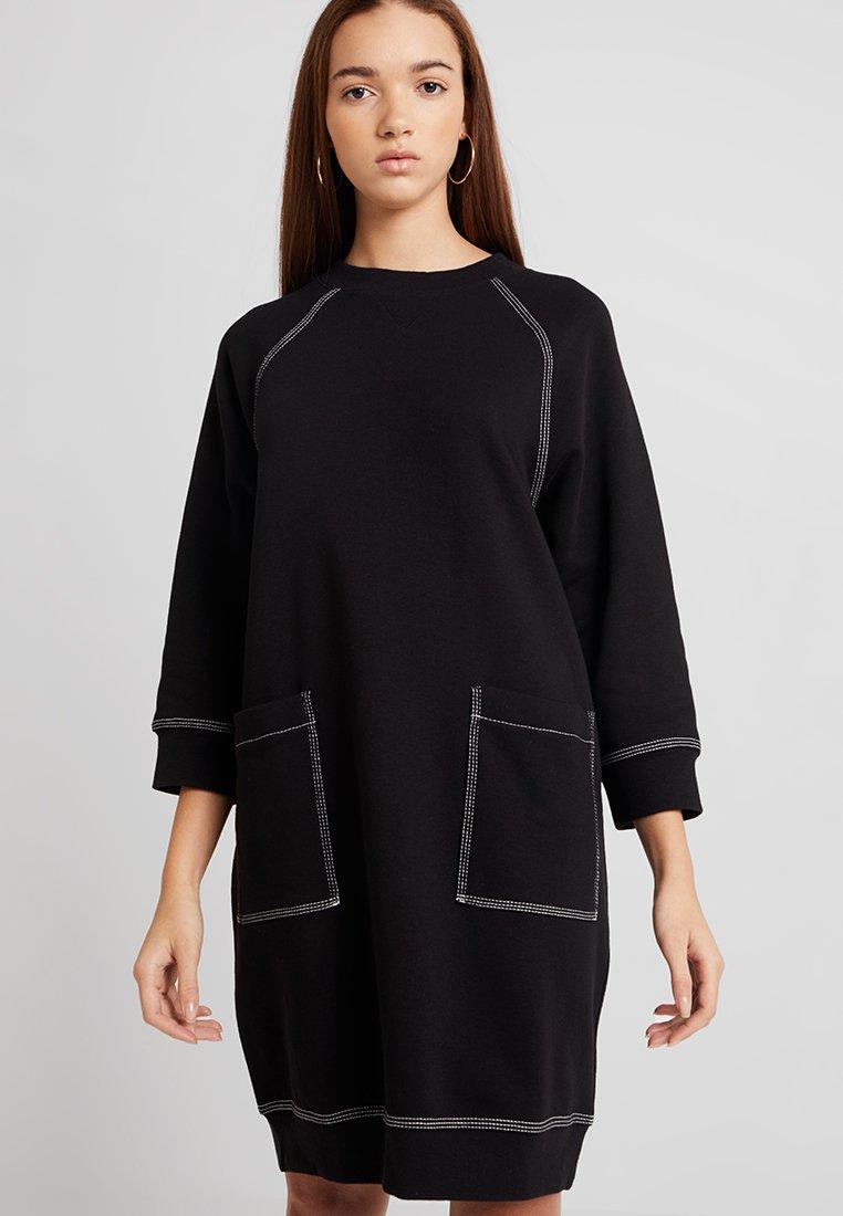Monki - YING DRESS - Day dress - black