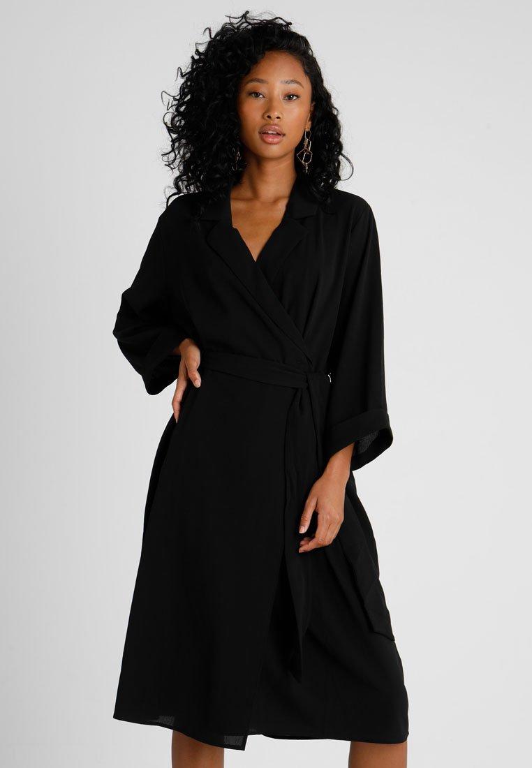 Monki - ANDIE DRESS - Freizeitkleid - black