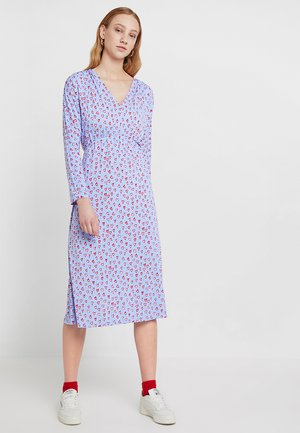 NORMA DRESS - Trikoomekko - blue
