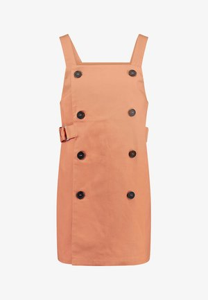 SYBIL DRESS - Spijkerjurk - orange