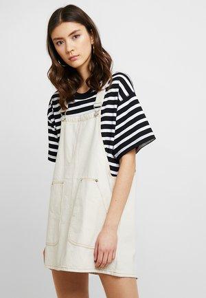 JILLA DRESS - Vestito di jeans - off white