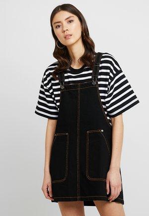 JILLA DRESS - Vestito di jeans - black