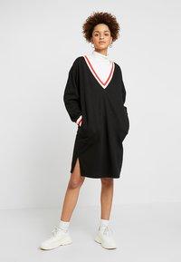 Monki - MIA DRESS - Sukienka letnia - black - 1