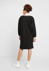 Monki - MIA DRESS - Sukienka letnia - black - 2