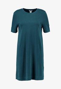 Monki - ABBIE DRESS - Robe en jersey - dark green - 3