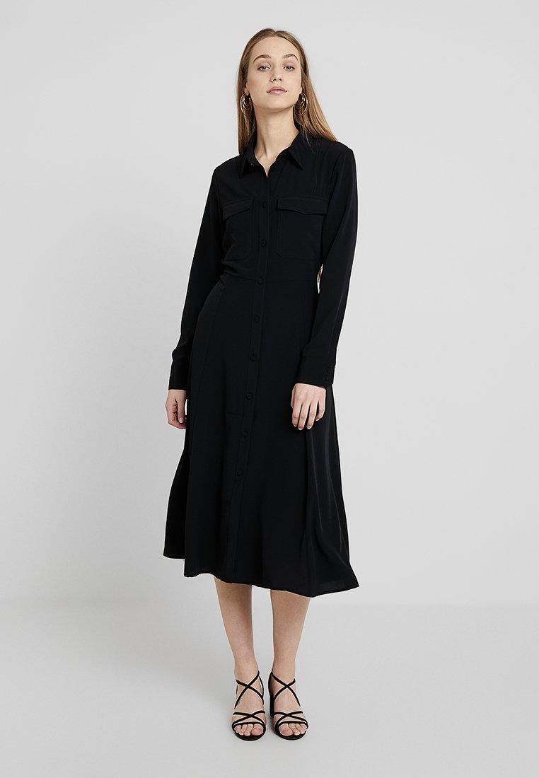 Monki - ELI DRESS ONLINE UNIQUE - Shirt dress - black
