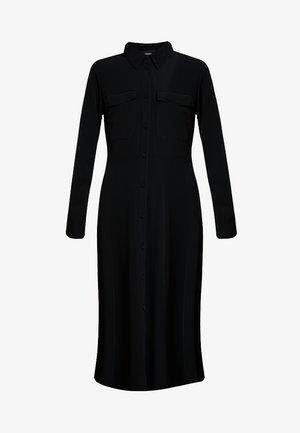 ELI DRESS ONLINE UNIQUE - Shirt dress - black