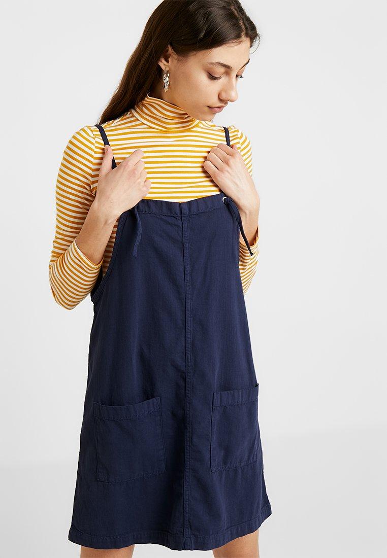 Monki - LOLA DRESS - Vestito di jeans - dark blue