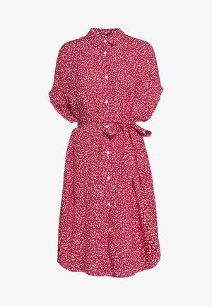 NINNI DRESS - Abito a camicia - red