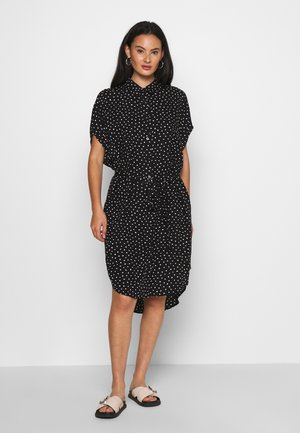 NINNI DRESS - Skjortekjole - black
