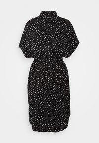 Monki - NINNI DRESS - Sukienka koszulowa - black - 4
