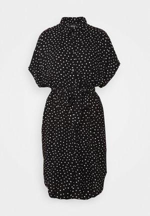 NINNI DRESS - Košilové šaty - black