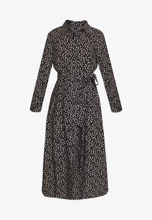 VENERA DRESS - Abito a camicia - black