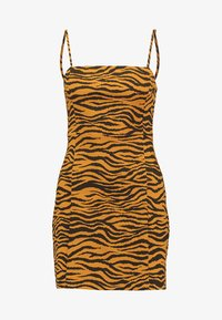 Monki - JUDY OCCASION DRESS - Robe d'été - orange/black - 3
