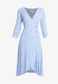 Monki - TORYN DRESS - Shirt dress - blue dusty light - 5