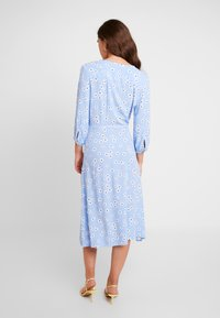 Monki - TORYN DRESS - Shirt dress - blue dusty light - 3